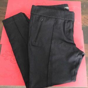 Loft Black Stretch Legging Type Pants 14 Stretchy